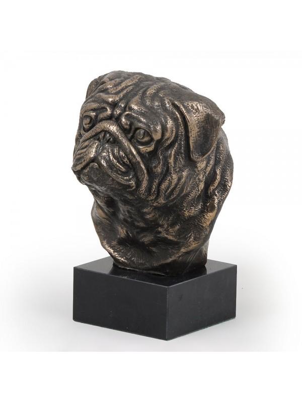 Pug - figurine (bronze) - 278 - 3090