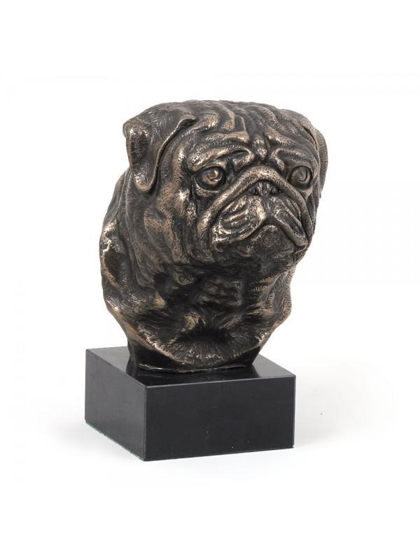Pug - figurine (bronze) - 278 - 3091
