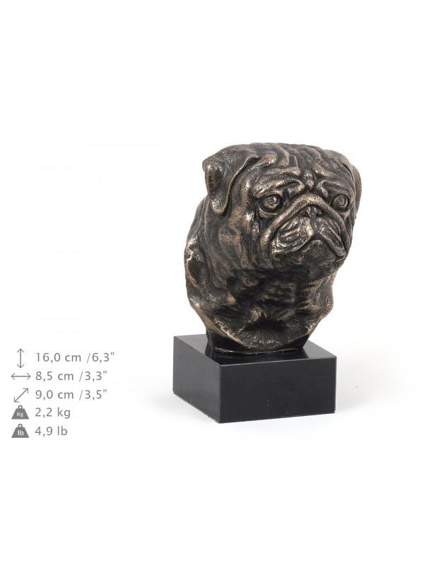 Pug - figurine (bronze) - 278 - 9167