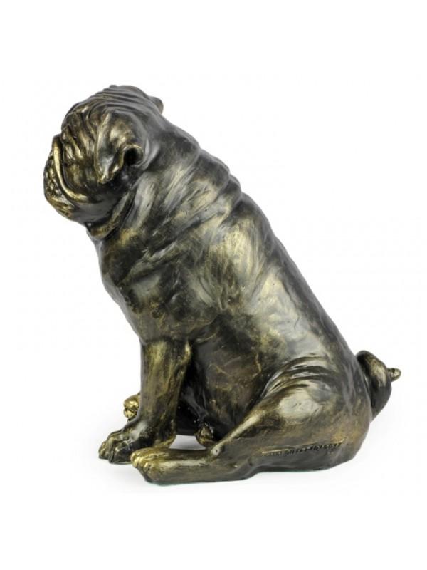 Pug - statue (resin) - 1598 - 8379