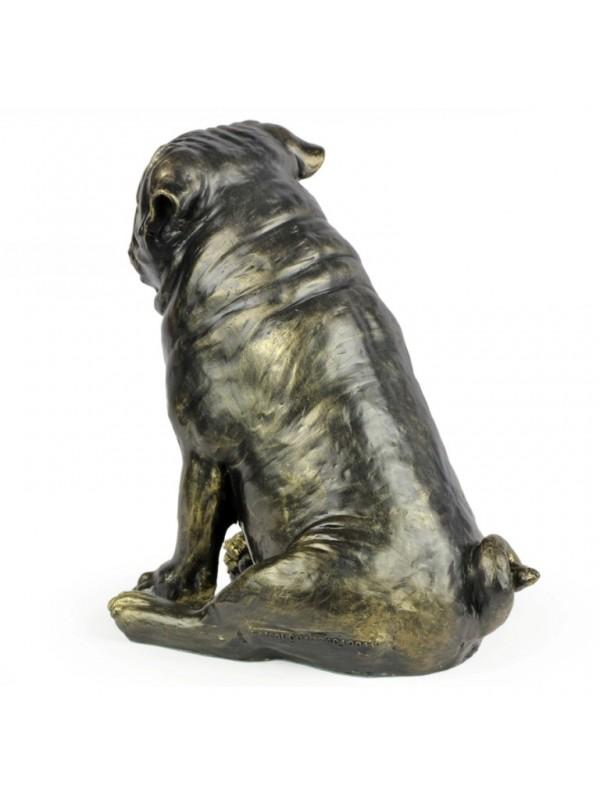 Pug - statue (resin) - 1598 - 8380