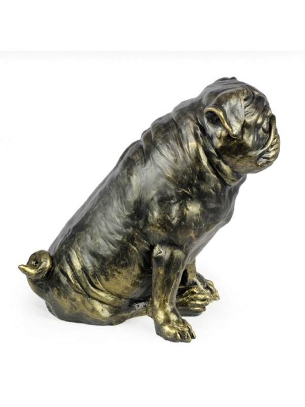 Pug - statue (resin) - 1598 - 8383