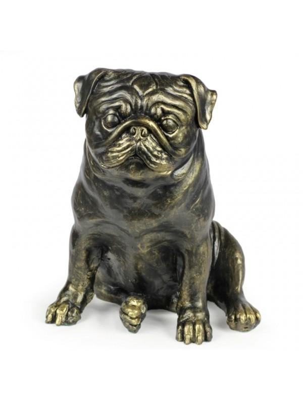 Pug - statue (resin) - 1598 - 8377