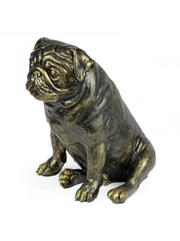 Pug - statue (resin) - 1598 - 8378