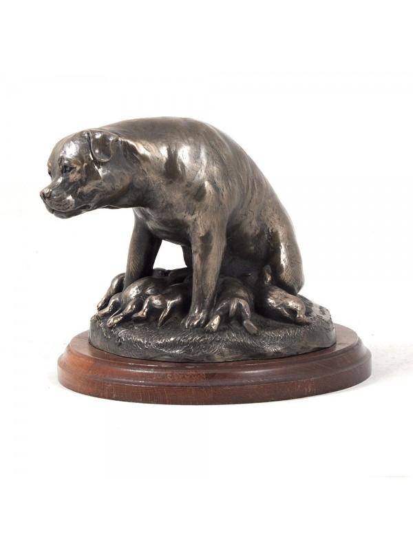 Rottweiler - figurine (bronze) - 617 - 3264