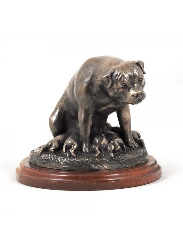 Rottweiler - figurine (bronze) - 617 - 3265