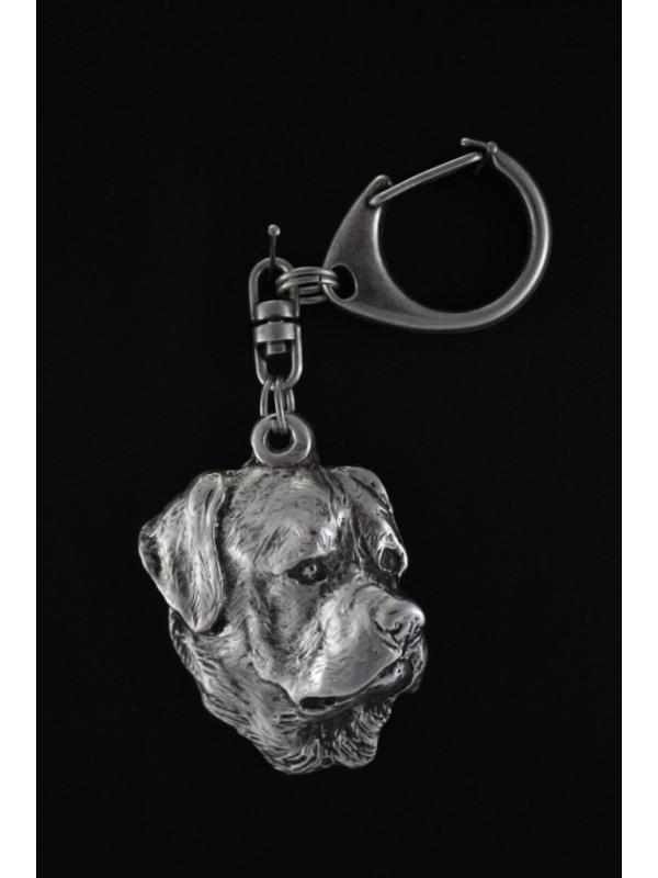 Rottweiler - keyring (silver plate) - 9 - 92