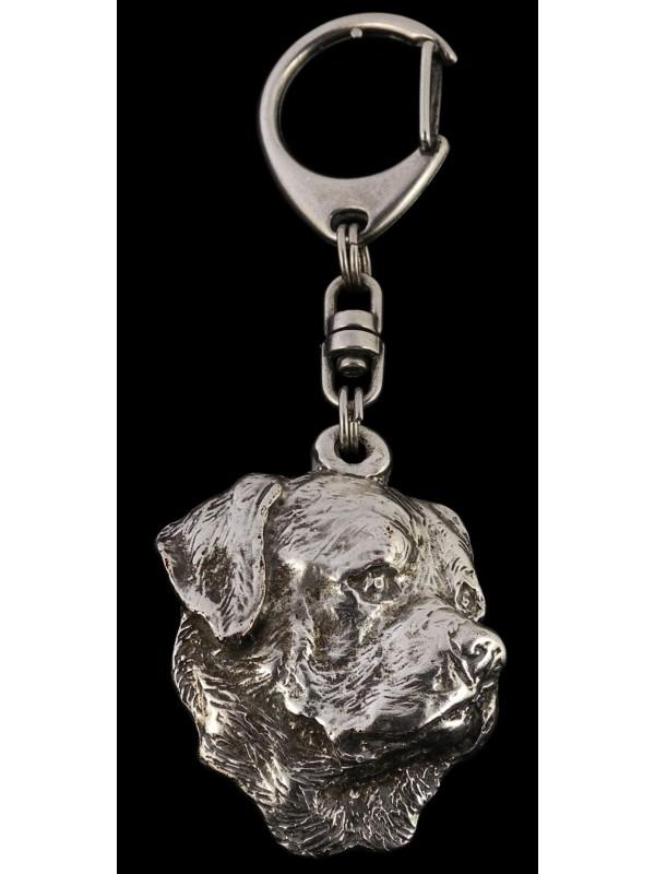 Rottweiler - keyring (silver plate) - 9 - 94