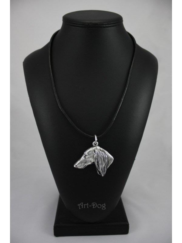 Saluki - necklace (strap) - 143 - 708