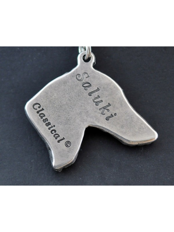 Saluki - necklace (strap) - 143 - 710