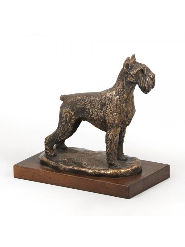 Schnauzer - figurine (bronze) - 618 - 2746