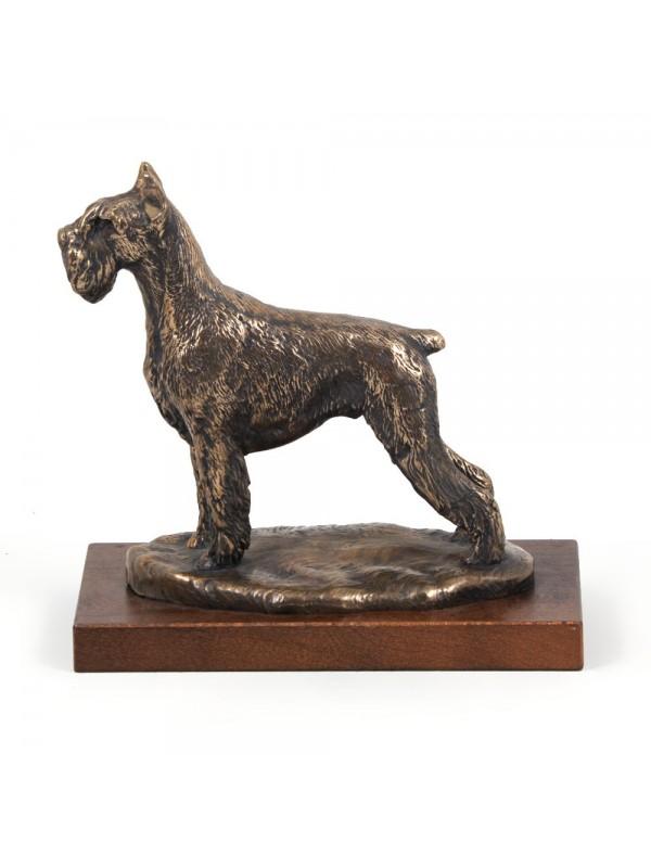 Schnauzer - figurine (bronze) - 618 - 2748