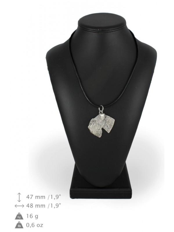 Schnauzer - necklace (strap) - 2704 - 29049