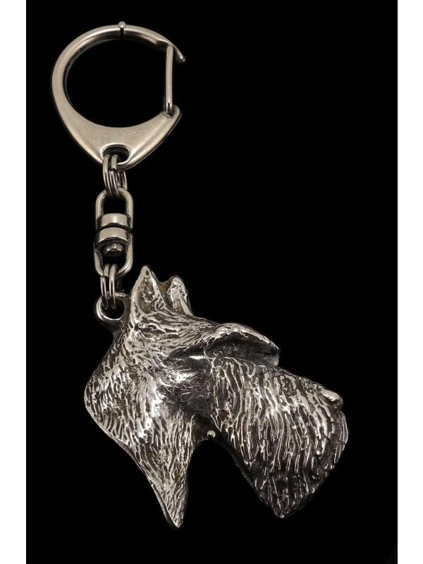 Scottish Terrier - keyring (silver plate) - 79 - 449