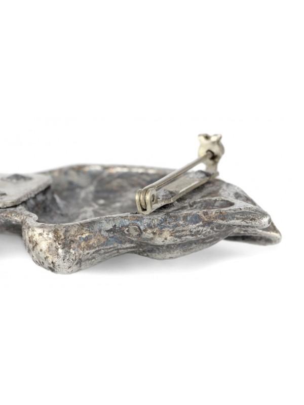 Siberian Husky - clip (silver plate) - 3 - 26180