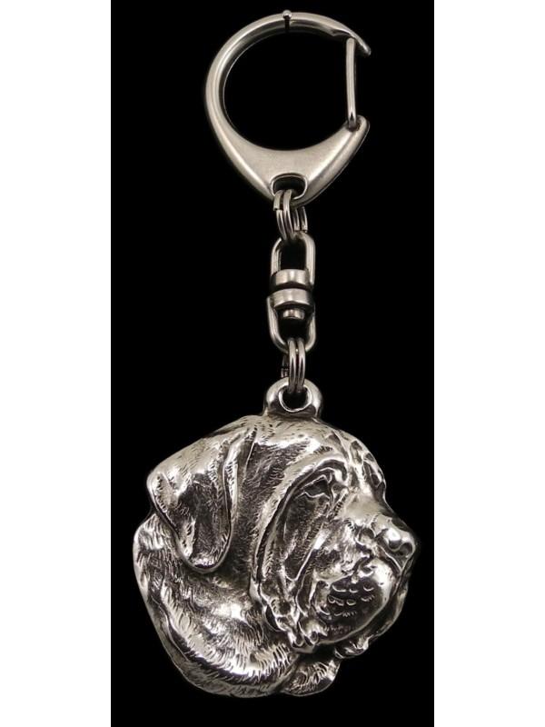 Spanish Mastiff - keyring (silver plate) - 83 - 471