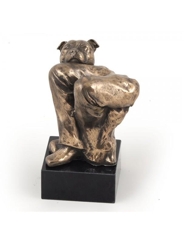 Staffordshire Bull Terrier - figurine (bronze) - 326 - 3107