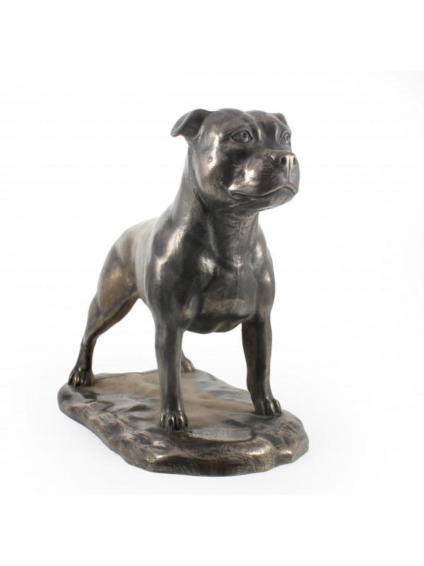 Staffordshire Bull Terrier - figurine (bronze) - 664 - 22371