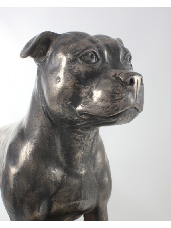Staffordshire Bull Terrier - figurine (bronze) - 664 - 22373