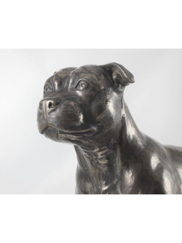 Staffordshire Bull Terrier - figurine (bronze) - 664 - 22378