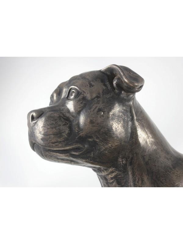 Staffordshire Bull Terrier - figurine (bronze) - 664 - 22380