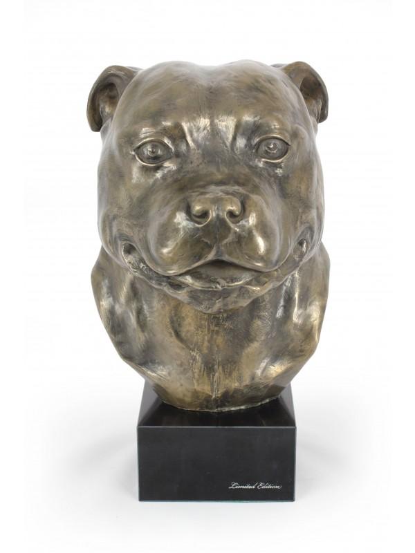 Staffordshire Bull Terrier - figurine (resin) - 142 - 7665