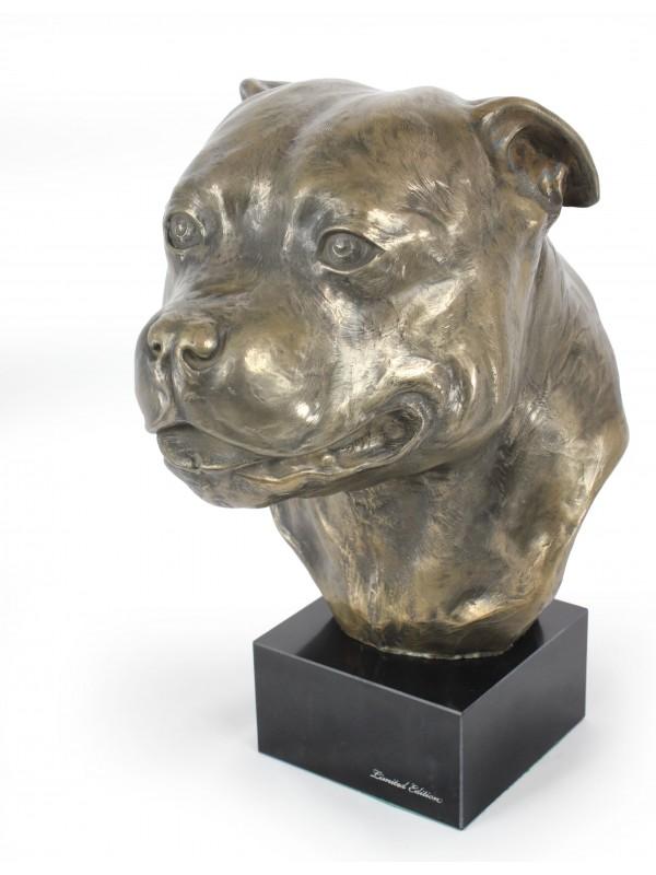 Staffordshire Bull Terrier - figurine (resin) - 142 - 7666