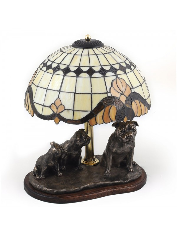 Staffordshire Bull Terrier - lamp (bronze) - 17 - 3171