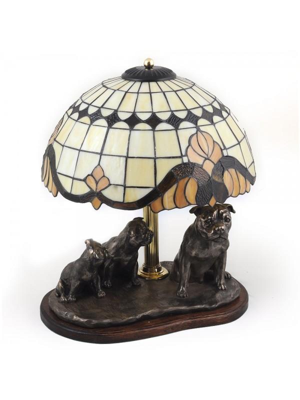 Staffordshire Bull Terrier - lamp (bronze) - 17 - 3171