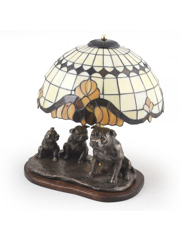 Staffordshire Bull Terrier - lamp (bronze) - 17 - 3172