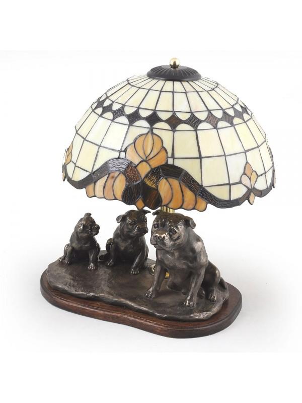 Staffordshire Bull Terrier - lamp (bronze) - 17 - 3172
