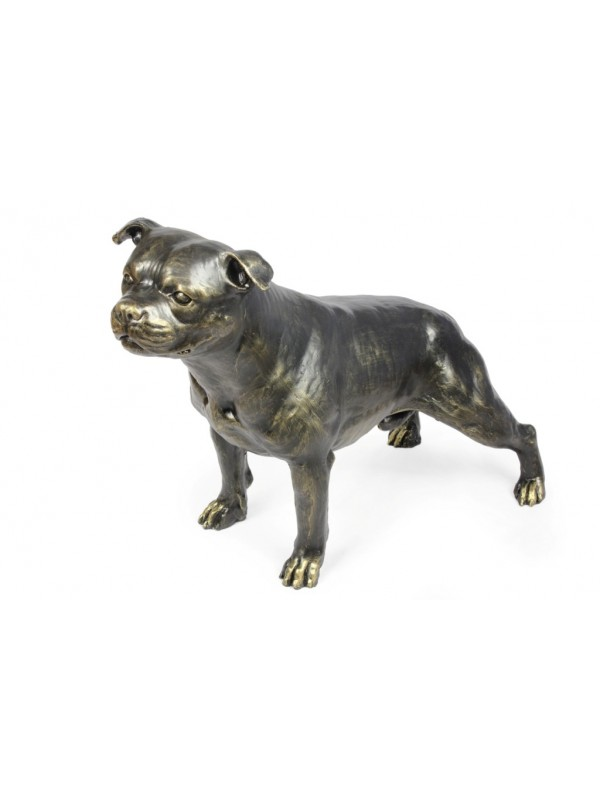 Staffordshire Bull Terrier - statue (resin) - 1599 - 8394
