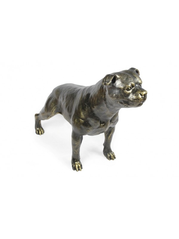 Staffordshire Bull Terrier - statue (resin) - 1599 - 8396
