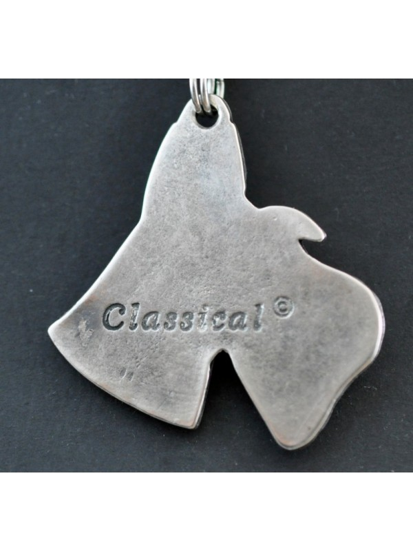 Switch Terrier - necklace (silver cord) - 3163 - 32525