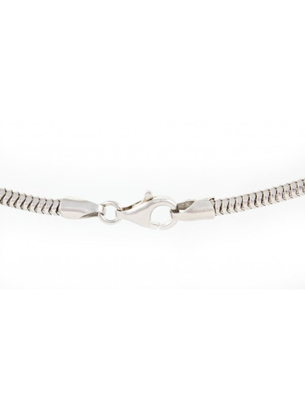 Switch Terrier - necklace (silver cord) - 3163 - 33005