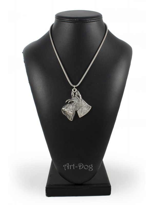 Switch Terrier - necklace (silver cord) - 3163 - 33036
