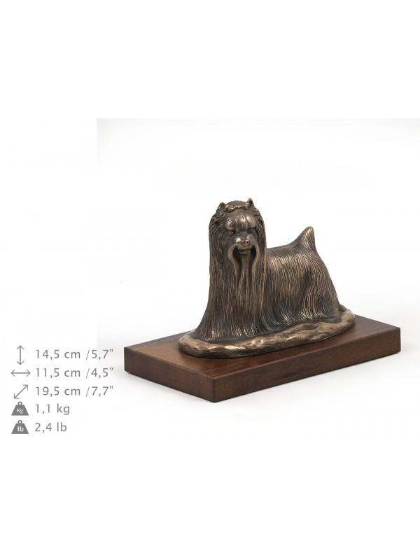 Yorkshire Terrier - figurine (bronze) - 626 - 8366