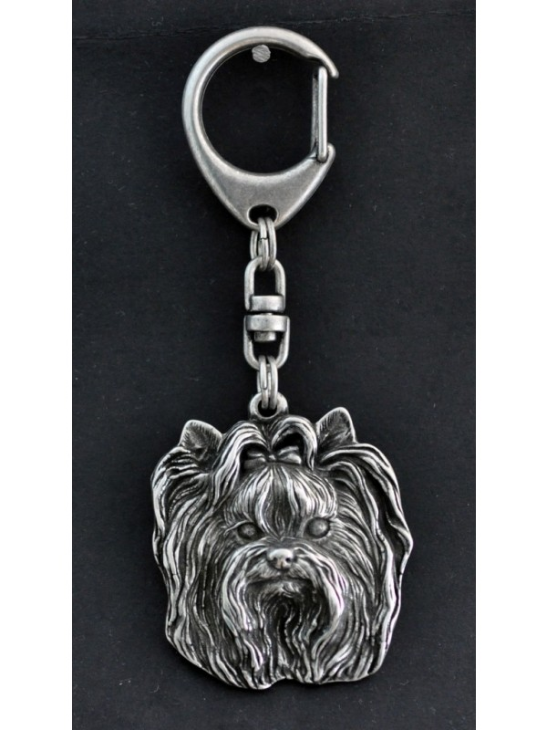Yorkshire Terrier - keyring (silver plate) - 35 - 226