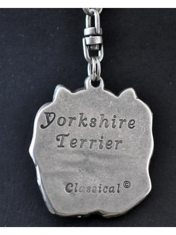 Yorkshire Terrier - keyring (silver plate) - 35 - 228