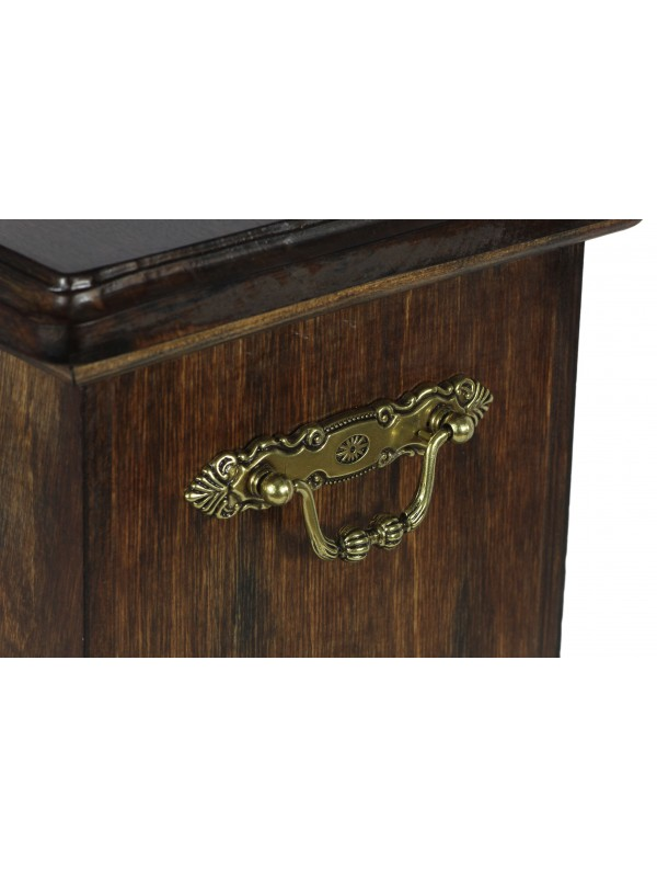 Afghan Hound - exclusive big urn with statue