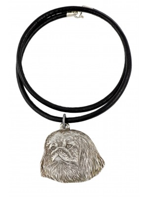 Pekingese - necklace (strap) - 711