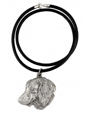 Dachshund - necklace (strap) - 746
