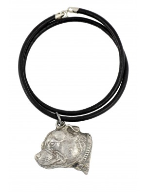 Staffordshire Bull Terrier - necklace (strap) - 1120