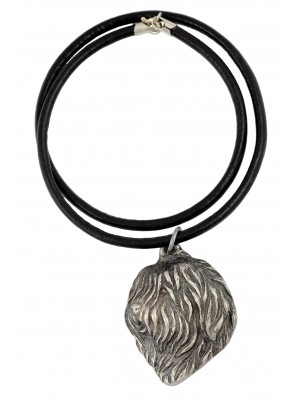 Polish Lowland Sheepdog - necklace (strap) - 1389