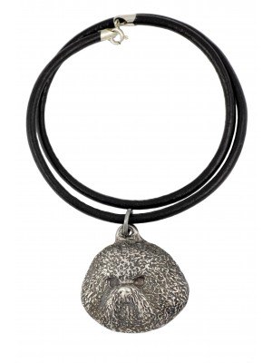 Bichon Frise - necklace (strap) - 1594