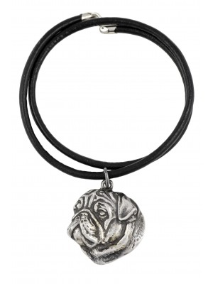 Pug - necklace (strap) - 136