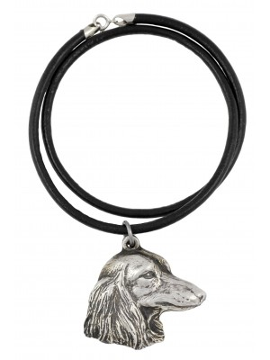 Dachshund - necklace (strap) - 380