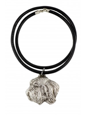 Basset Hound - necklace (strap) - 389 - 1400