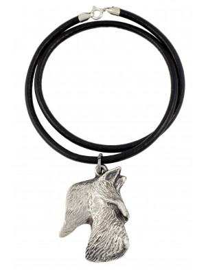 Scottish Terrier - necklace (strap) - 394