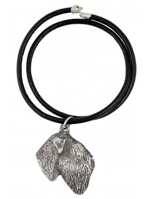Black Russian Terrier - necklace (strap) - 412